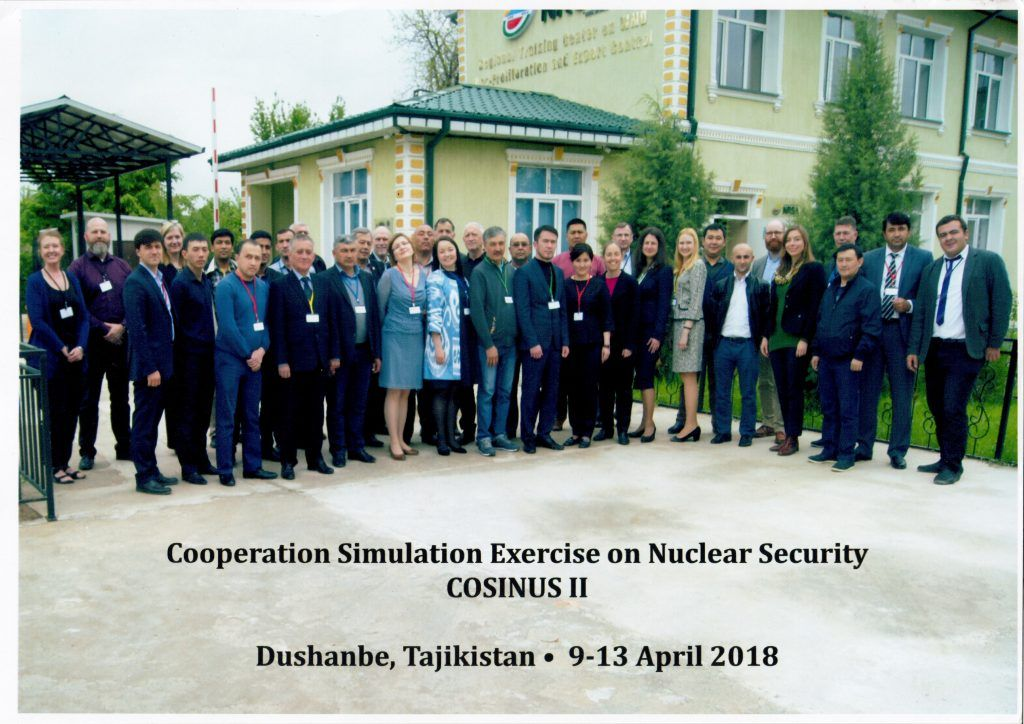 Cooperation Simulation Exercise on Nuclear Security COSINUS II
