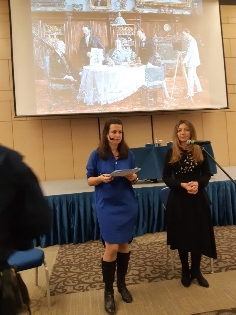 Lecture by Sarah Faberge